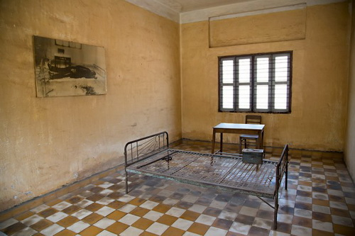 Tuol Sleng Genocide Museum and the Killing Fields